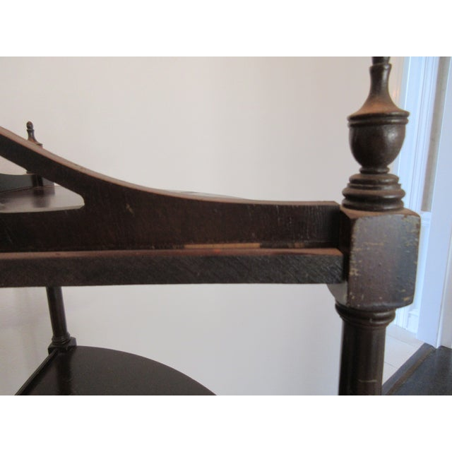 Antique Chippendale Five Tiered Etagere - Image 9 of 11