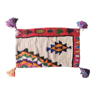 Vintage Moroccan Boujad Pillow
