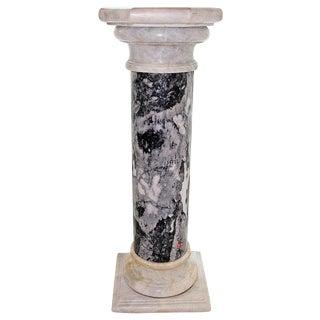 Substantial Black Marble Pedestal