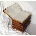Image of Book Form Low Stool Table