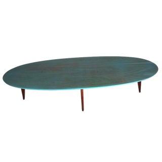 Mersman Danish Modern Surfboard Coffee Table