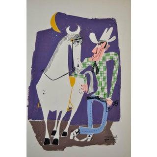 Muriel Jacobs Original Illustration c.1960