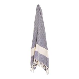 Turkish Dark Grey Hammam Towel