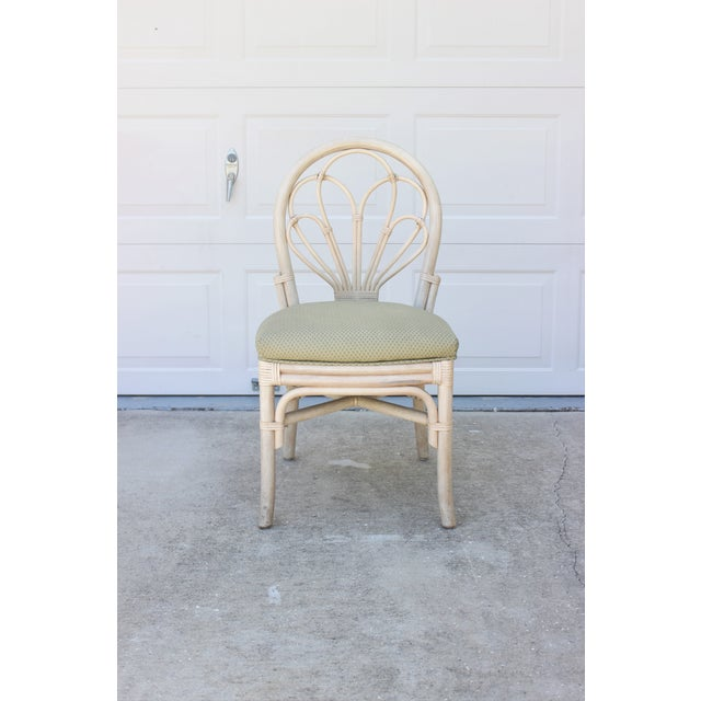 Vintage Rattan/Bamboo Accent or Desk Chair - Image 2 of 6