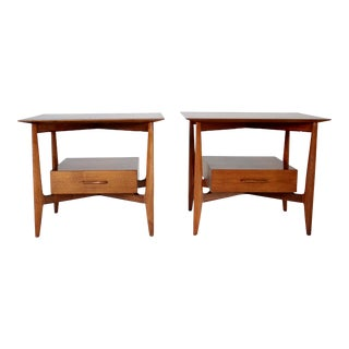 John Stuart Single Drawer End Tables Nightstands