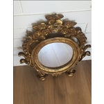 Image of Antique Carved Gold Mirror