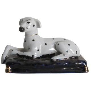Staffordshire Style Porcelain Dalmatian Figure