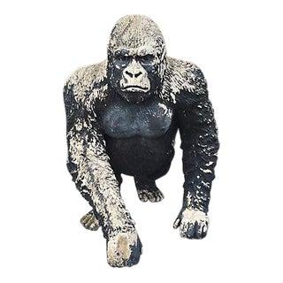 Resin Gorilla Statue