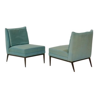 Pair of Slipper Lounge Chairs by Paul Mccobb for Calvin