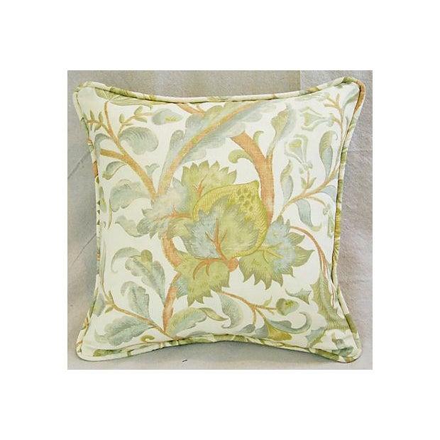 Designer Custom Acquitaine Lyceana Floral Pillow - Image 3 of 5