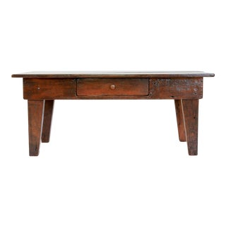 19th Century Rustic Pine Coffee Table
