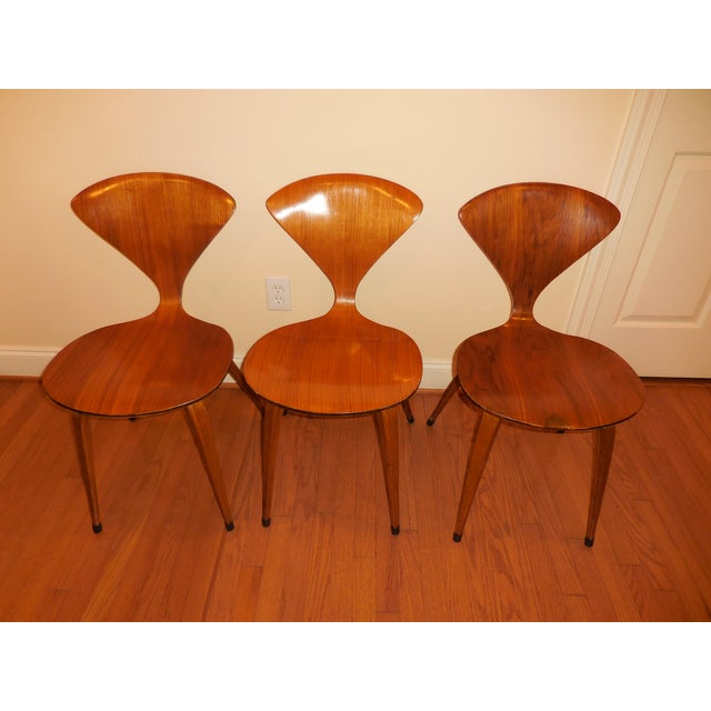 Norman Cherner for Plycraft Ant Chairs - Set of 3 - Image 2 of 6