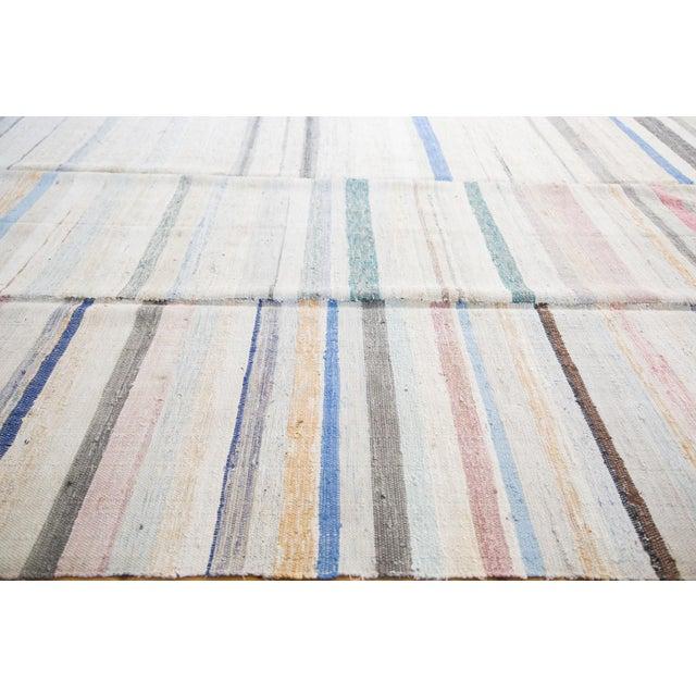 "Image of Vintage Rag Rug Carpet - 6'6"" X 10'10"""