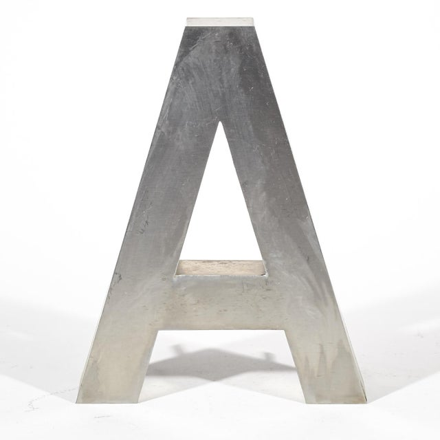 "Aluminum ""A"" Letter - Image 2 of 4"