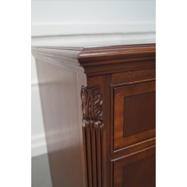 Ethan Allen 18th Century Chippendale Style Dresser - Image 8 of 10