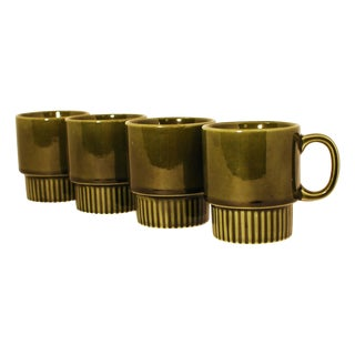 Japanese Ceramic Tea Cups- Set of 4