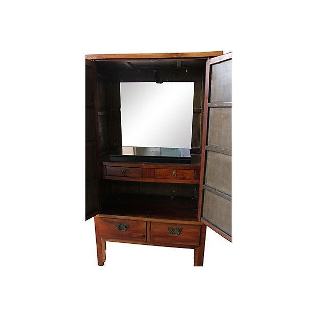 Image of 19th Century Antique Chinese Armoire