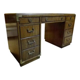 Vintage Thomasville Campaign Style Desk