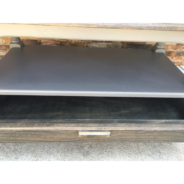 Image of 1970's Vintage Refinished Coffee Table