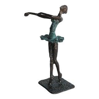 Bronze Ballet Dancer Sculpture