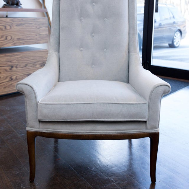 T.H. Robsjohn-Gibbings Highback Chair for Widdicomb - Image 5 of 8