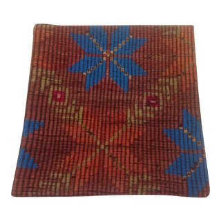 Vintage Hand Woven Turkish Kilim Rug Pillow Case