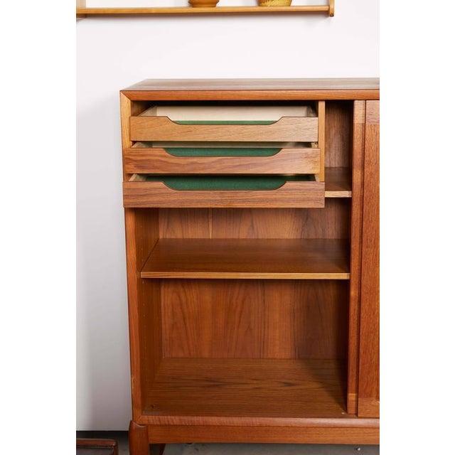 Danish Teak Cabinet by H.W. Klein - Image 4 of 5