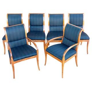 Henredon Dining Chairs W/ French Polish - Set of 6