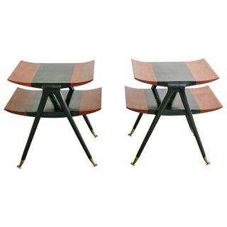Italian Modernist Side Tables - Pair