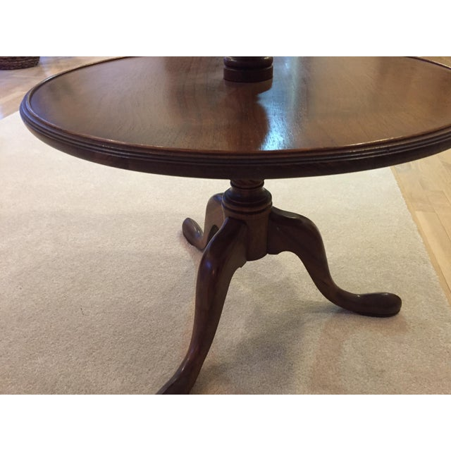 3-Tiered Butler Tripod Table - Image 8 of 8