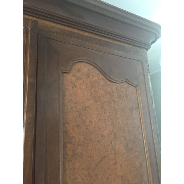Image of French Louis XV Armoire With Custom Inserts