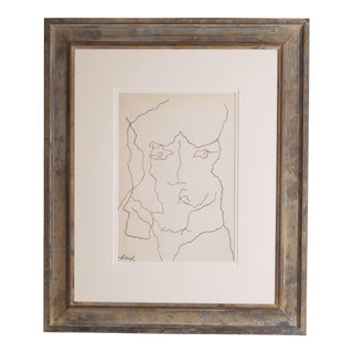 Hans Arp Limited Edition Print of Drawing