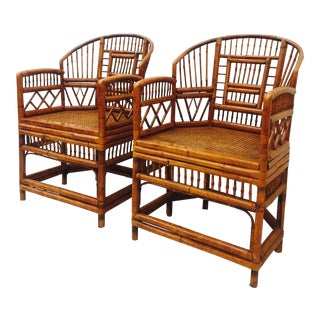 Vintage Brighton Pavilion Chairs - A Pair