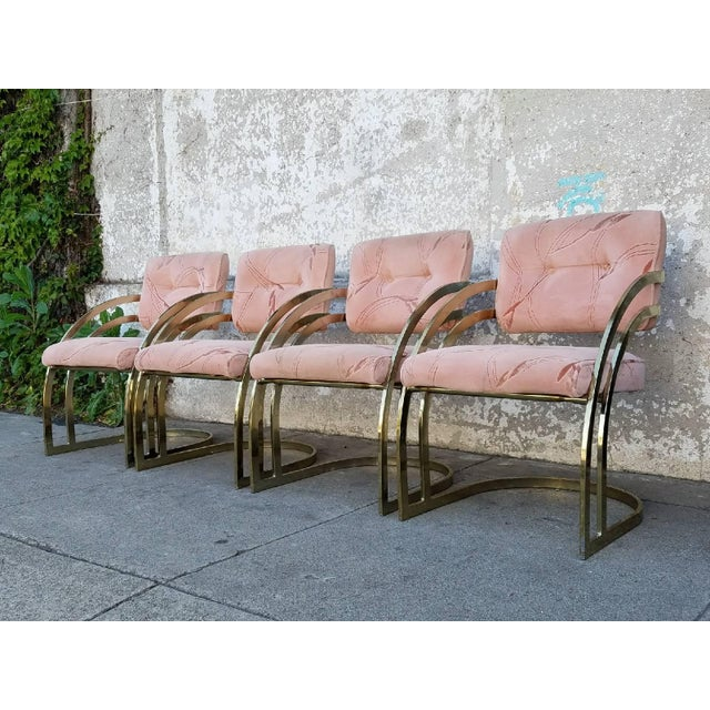 Vintage Milo Baughman Chairs- Set of 4 - Image 6 of 6