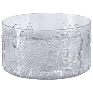 Large Art Glass Bowl by Oiva Toikka for Iittala, Finland