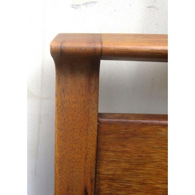 Vintage Wooden Headboard & Footboard, Full Size - Image 4 of 7