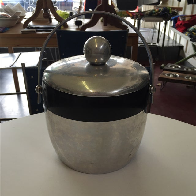 Image of Kromex Aluminum Ice Bucket