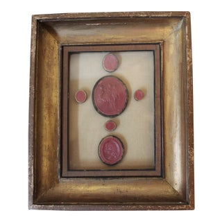 Antique Red Wax Seals