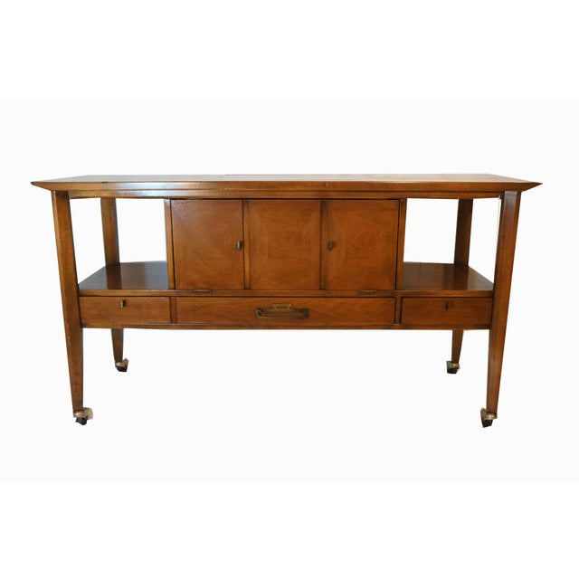 Mid-Century Modern Bar Cart - Image 7 of 8
