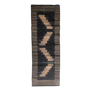 Handwoven African Root Runner Rug - 1′11″ × 5′9″