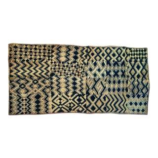 Vintage African Velvet Kuba Textile