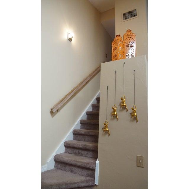 Climbing Man Girl Gold Wall Art - Set of 4 - Image 3 of 6