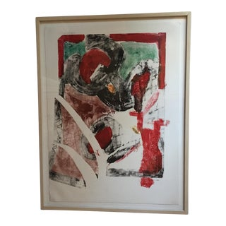 """""""Homme Rouge"""" Original Painting by Timothy Taylor"""