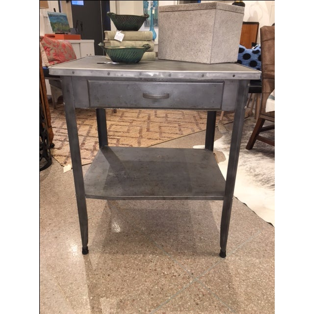 Image of Vintage Industrial Console Table