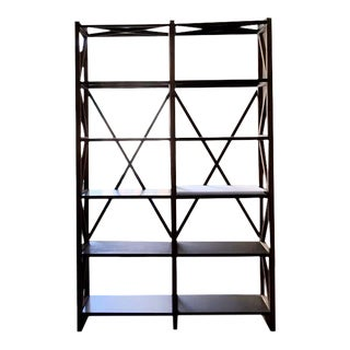20th Century Zinc Truss Double Shelving