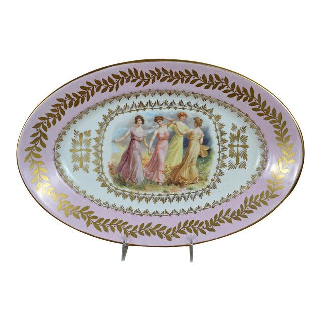 Porcelain Transfer Portrait Platter - Image 1 of 7