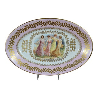 Porcelain Transfer Portrait Platter