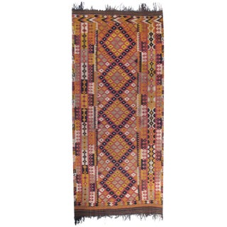 Large and Long Uzbek Kilim