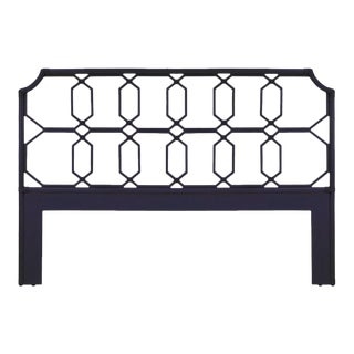 Selamat Designs Blue Regeant Queen Headboard