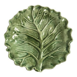 Cabbage Leaf Serving Plate